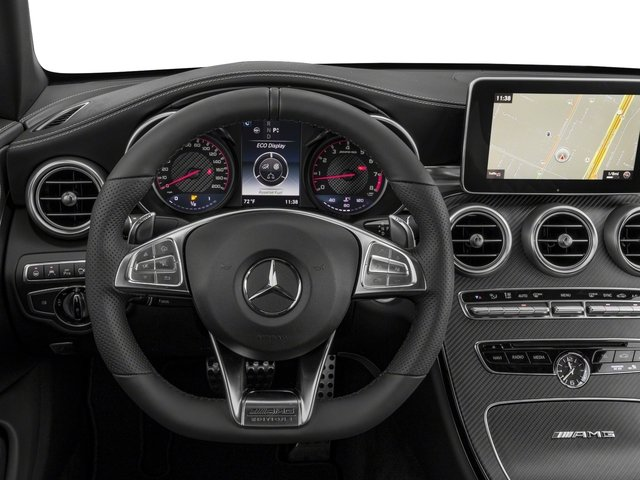 2018 Mercedes-Benz C-Class Base Price AMG C 63 S Cabriolet Pricing driver's dashboard