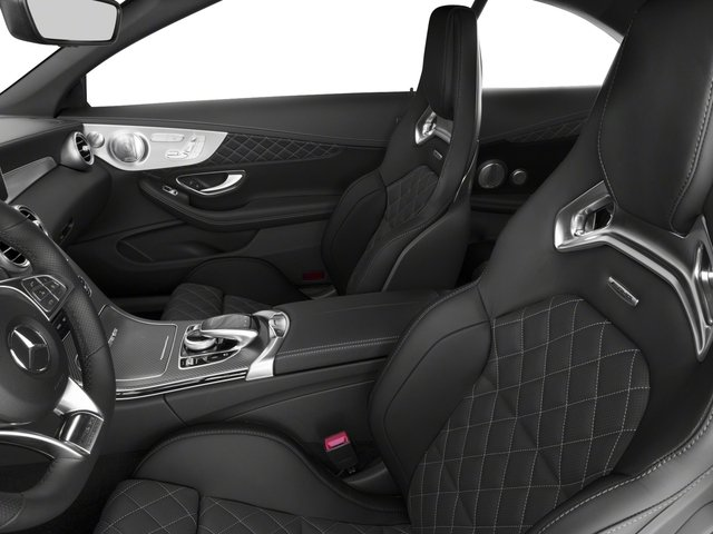 2018 Mercedes-Benz C-Class Prices and Values Convertible 2D C63 AMG S V6 Turbo front seat interior