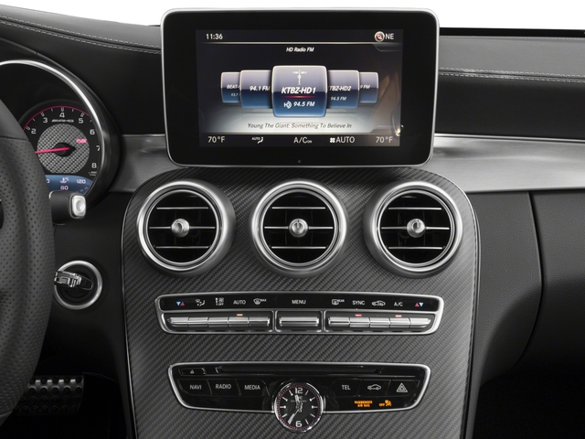 2018 Mercedes-Benz C-Class Prices and Values Convertible 2D C63 AMG S V6 Turbo stereo system