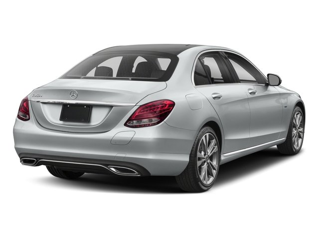 2018 Mercedes-Benz C-Class Base Price C 350e Sedan Pricing side rear view
