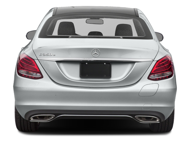 2018 Mercedes-Benz C-Class Base Price C 350e Sedan Pricing rear view