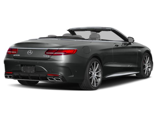 2018 Mercedes-Benz S-Class Prices and Values Convertible 2D S63 AMG AWD V8 Turbo side rear view