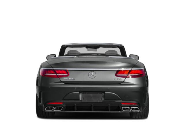 2018 Mercedes-Benz S-Class Prices and Values Convertible 2D S63 AMG AWD V8 Turbo rear view