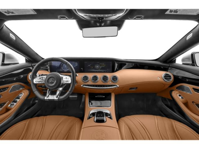 2018 Mercedes-Benz S-Class Prices and Values Convertible 2D S63 AMG AWD V8 Turbo full dashboard
