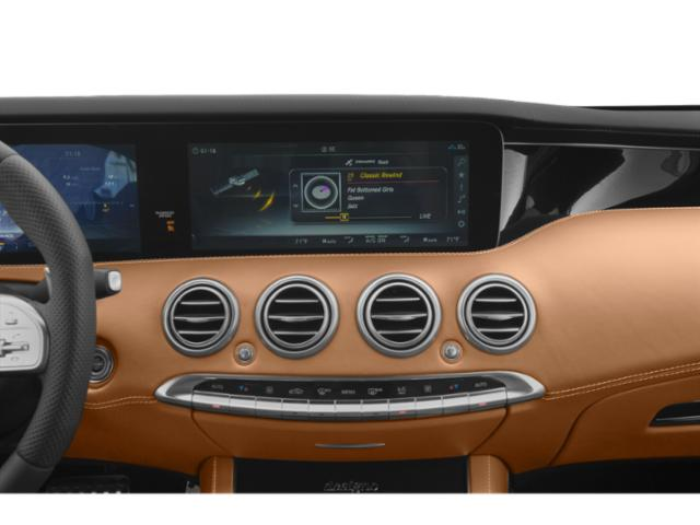 2018 Mercedes-Benz S-Class Prices and Values Convertible 2D S63 AMG AWD V8 Turbo stereo system