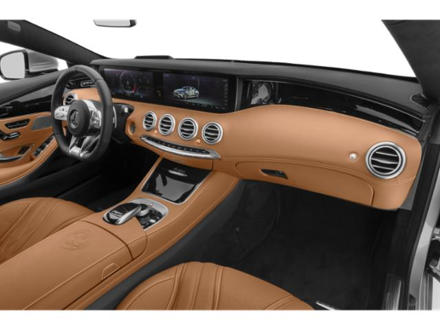 2018 Mercedes-Benz S-Class Prices and Values Convertible 2D S63 AMG AWD V8 Turbo passenger's dashboard