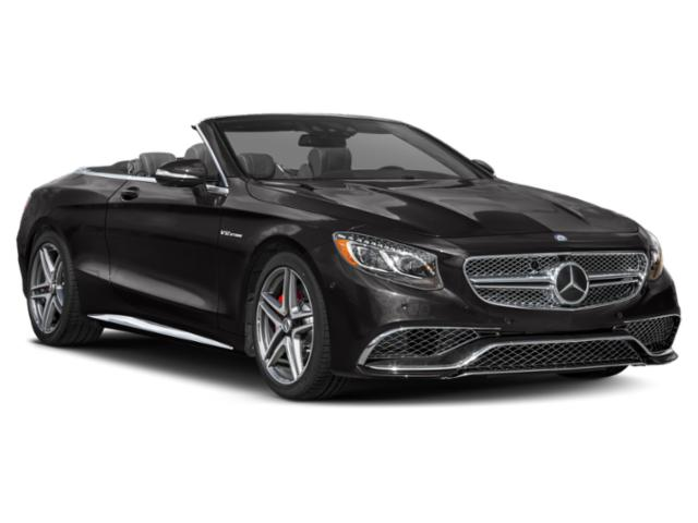 2018 Mercedes-Benz S-Class Prices and Values 2 Door Cabriolet side front view