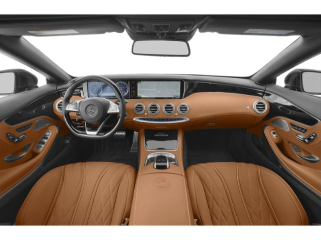 2018 Mercedes-Benz S-Class Prices and Values 2 Door Cabriolet full dashboard