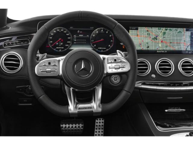 2018 Mercedes-Benz S-Class Prices and Values 2 Door Cabriolet driver's dashboard