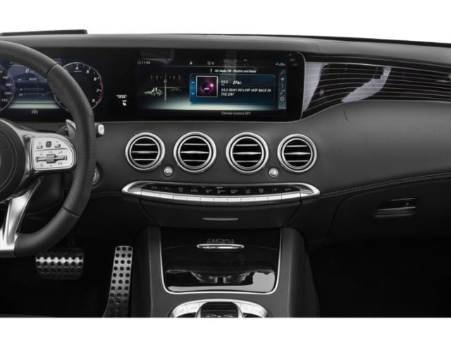 2018 Mercedes-Benz S-Class Pictures S-Class 2 Door Coupe photos stereo system