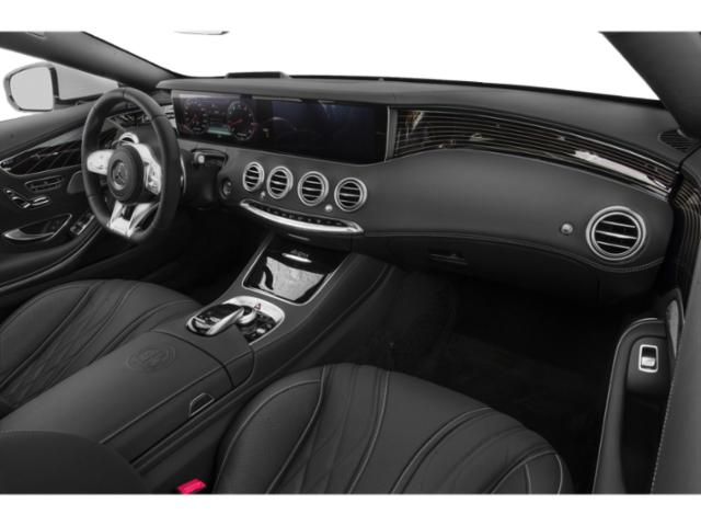 2018 Mercedes-Benz S-Class Prices and Values 2 Door Cabriolet passenger's dashboard