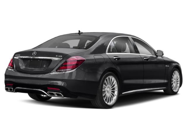 2018 Mercedes-Benz S-Class Prices and Values 4 Door Sedan side rear view