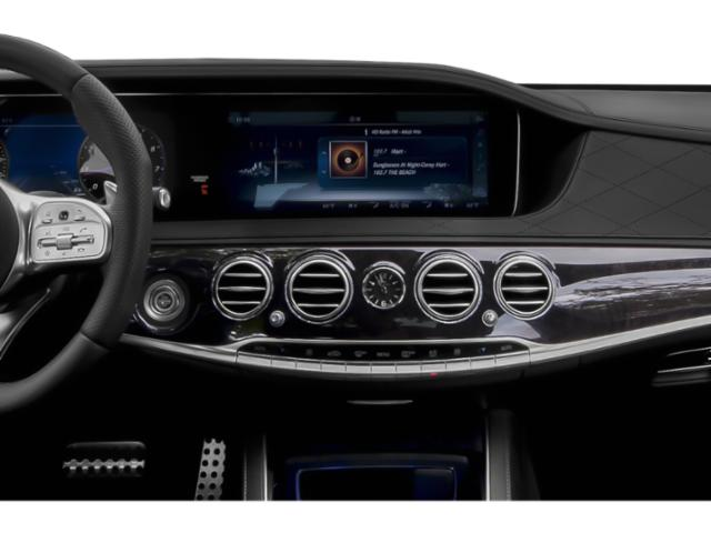 2018 Mercedes-Benz S-Class Prices and Values 2 Door Cabriolet stereo system