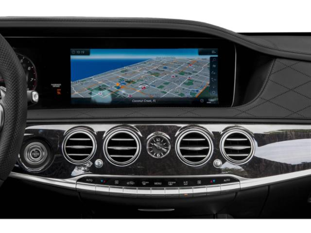 2018 Mercedes-Benz S-Class Prices and Values 4 Door Sedan navigation system