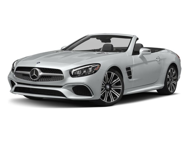 2018 Mercedes-Benz SL Pictures SL SL 450 Roadster photos side front view