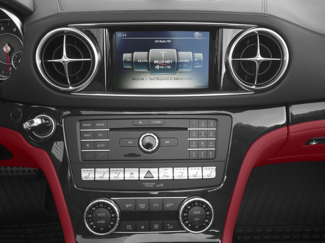 2018 Mercedes-Benz SL Base Price SL 450 Roadster Pricing stereo system