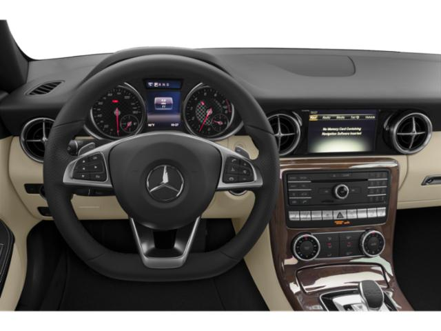 2018 Mercedes-Benz SLC Prices and Values Roadster 2D SLC300 I4 Turbo driver's dashboard
