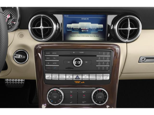 2018 Mercedes-Benz SLC Prices and Values Roadster 2D SLC300 I4 Turbo stereo system