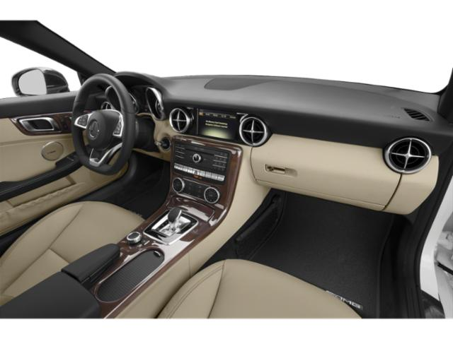 2018 Mercedes-Benz SLC Prices and Values Roadster 2D SLC300 I4 Turbo passenger's dashboard