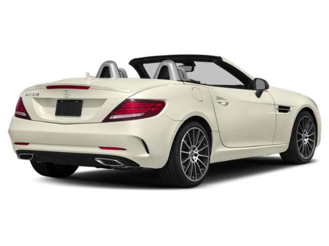 2018 Mercedes-Benz SLC Prices and Values Roadster 2D SLC300 I4 Turbo side rear view