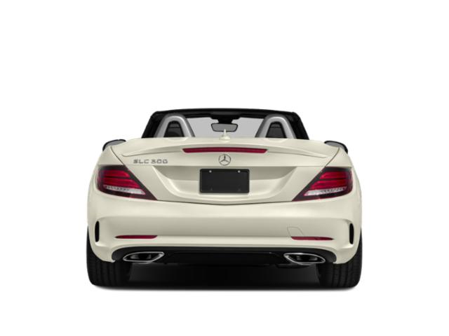 2018 Mercedes-Benz SLC Prices and Values Roadster 2D SLC300 I4 Turbo rear view