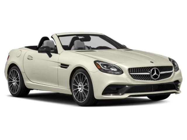 2018 Mercedes-Benz SLC Prices and Values Roadster 2D SLC300 I4 Turbo side front view