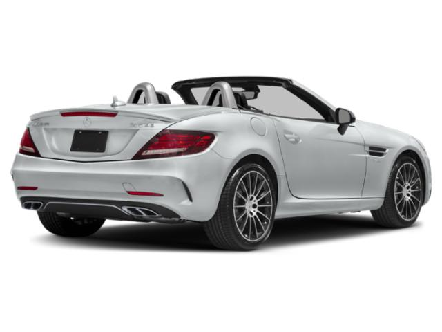 2018 Mercedes-Benz SLC Prices and Values Roadster 2D SLC43 AMG V6 Turbo side rear view
