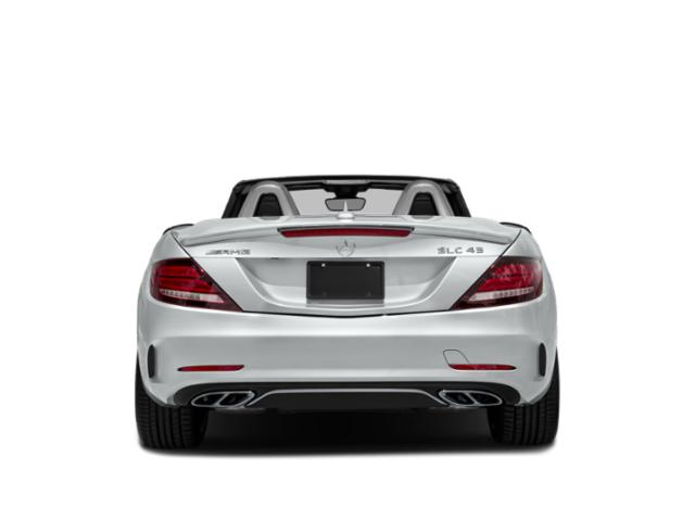 2018 Mercedes-Benz SLC Prices and Values Roadster 2D SLC43 AMG V6 Turbo rear view