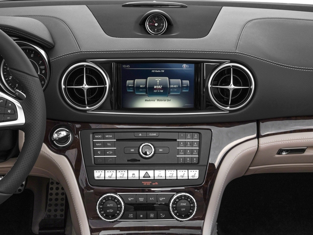 2018 Mercedes-Benz SL Base Price SL 550 Roadster Pricing stereo system