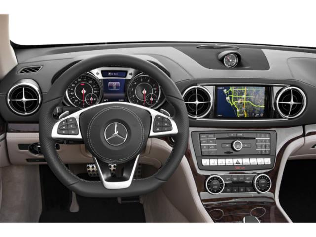 2018 Mercedes-Benz SL Base Price SL 550 Roadster Pricing driver's dashboard