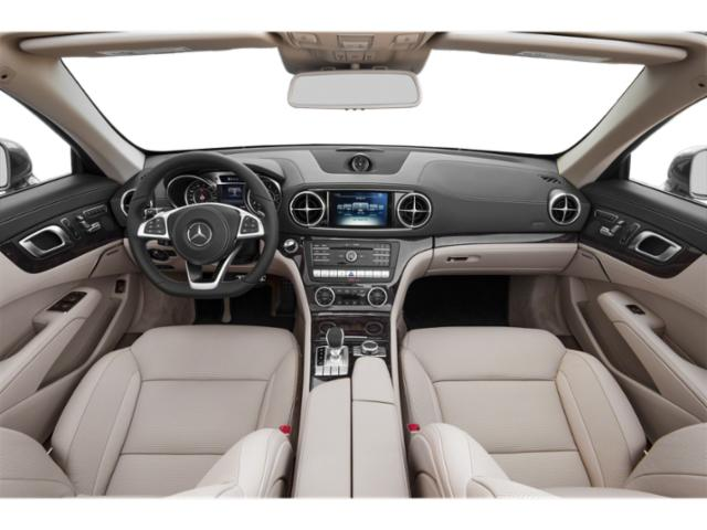 2018 Mercedes-Benz SL Base Price SL 550 Roadster Pricing full dashboard