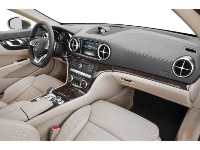 2018 Mercedes-Benz SL Base Price SL 550 Roadster Pricing passenger's dashboard