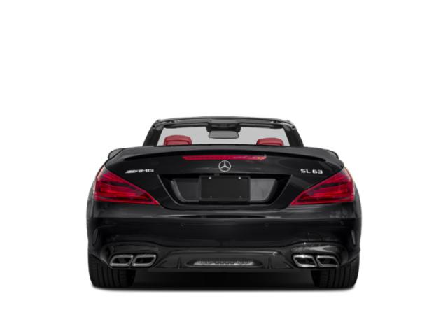 2018 Mercedes-Benz SL Prices and Values Roadster 2D SL63 AMG V8 Turbo rear view