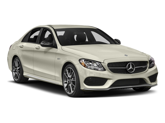 2018 Mercedes-Benz C-Class Pictures C-Class Sedan 4D C43 AMG AWD V6 Turbo photos side front view