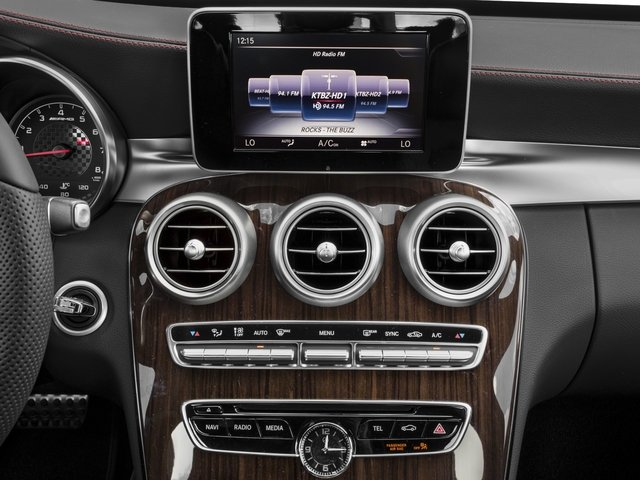 2018 Mercedes-Benz C-Class Pictures C-Class AMG C 43 4MATIC Sedan photos stereo system