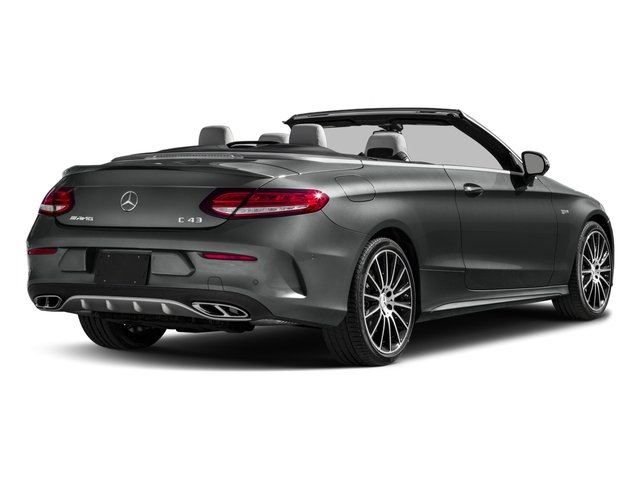 2018 Mercedes-Benz C-Class Prices and Values Convertible 2D C43 AMG AWD V6 Turbo side rear view