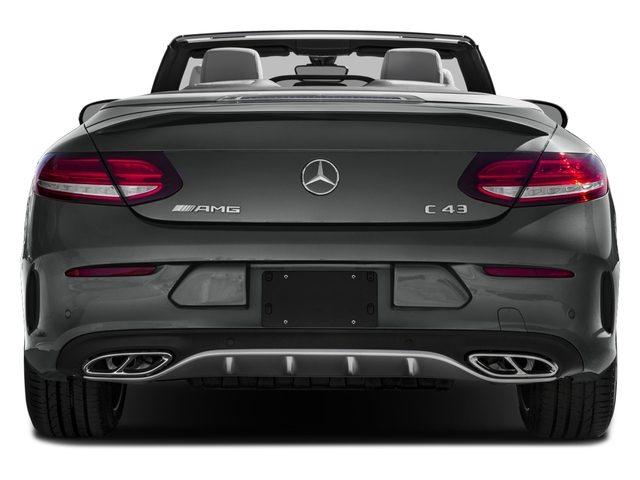 2018 Mercedes-Benz C-Class Prices and Values Convertible 2D C43 AMG AWD V6 Turbo rear view