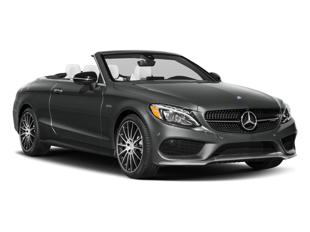 2018 Mercedes-Benz C-Class Prices and Values Convertible 2D C43 AMG AWD V6 Turbo side front view