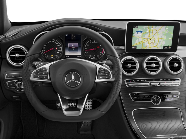 2018 Mercedes-Benz C-Class Prices and Values Convertible 2D C43 AMG AWD V6 Turbo driver's dashboard