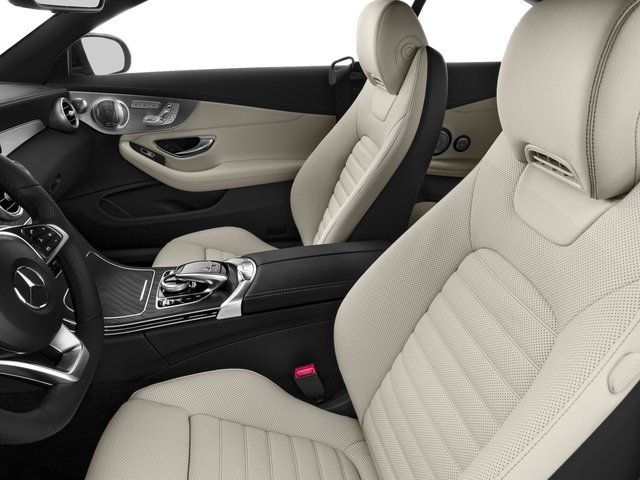 2018 Mercedes-Benz C-Class Prices and Values Convertible 2D C43 AMG AWD V6 Turbo front seat interior