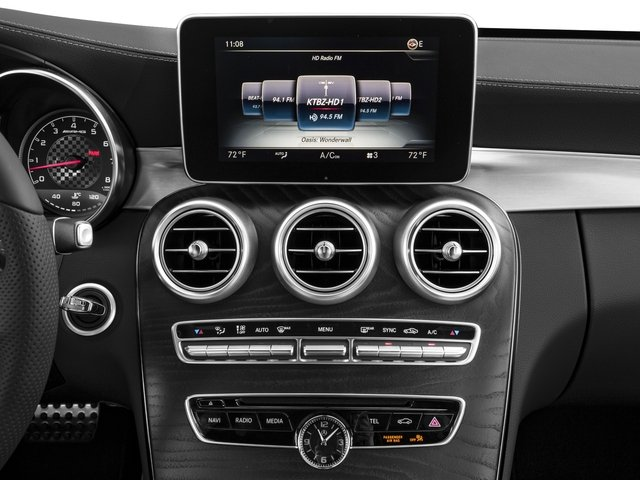 2018 Mercedes-Benz C-Class Prices and Values Convertible 2D C43 AMG AWD V6 Turbo stereo system