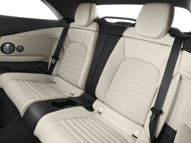 2018 Mercedes-Benz C-Class Prices and Values Convertible 2D C43 AMG AWD V6 Turbo backseat interior