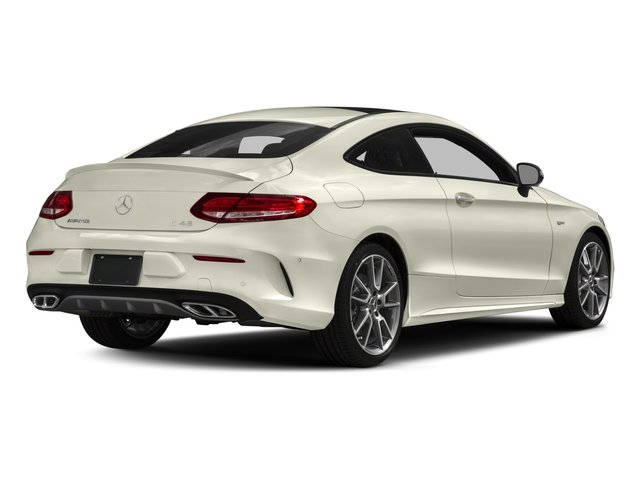 2018 Mercedes-Benz C-Class Prices and Values Coupe 2D C43 AMG AWD V6 Turbo side rear view