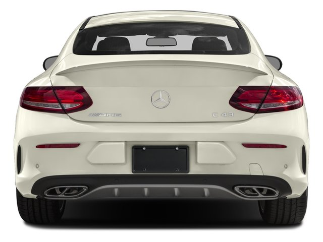 2018 Mercedes-Benz C-Class Prices and Values Coupe 2D C43 AMG AWD V6 Turbo rear view