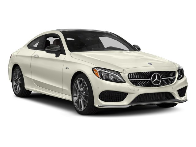 2018 Mercedes-Benz C-Class Prices and Values Coupe 2D C43 AMG AWD V6 Turbo side front view
