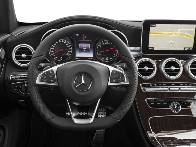 2018 Mercedes-Benz C-Class Prices and Values Coupe 2D C43 AMG AWD V6 Turbo driver's dashboard