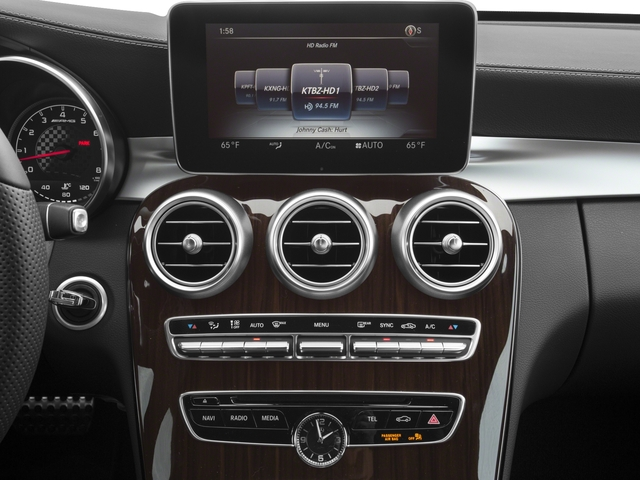 2018 Mercedes-Benz C-Class Prices and Values Coupe 2D C43 AMG AWD V6 Turbo stereo system