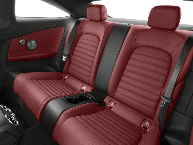 2018 Mercedes-Benz C-Class Prices and Values Coupe 2D C43 AMG AWD V6 Turbo backseat interior