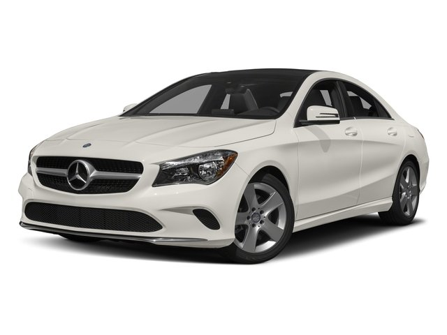 2018 Mercedes-Benz CLA Base Price CLA 250 4MATIC Coupe Pricing side front view