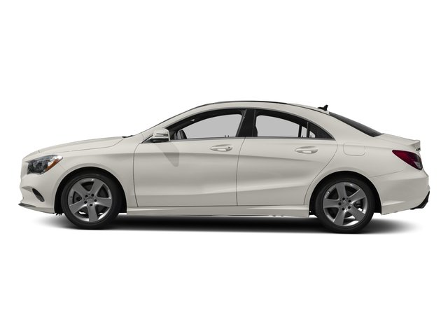 2018 Mercedes-Benz CLA Base Price CLA 250 4MATIC Coupe Pricing side view